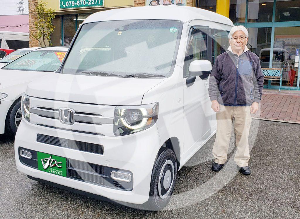 Nバン新車納車