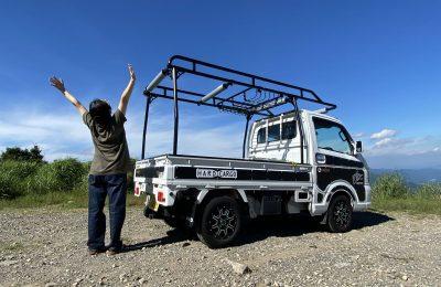 カスタム軽トラックで行く養父市の横行渓谷と氷ノ山