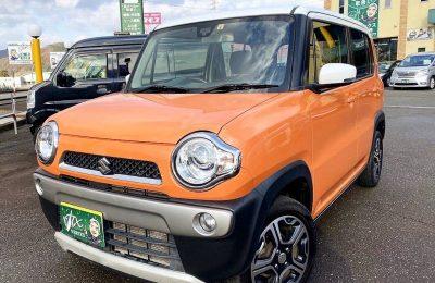 人気のハスラーオレンジ入庫!