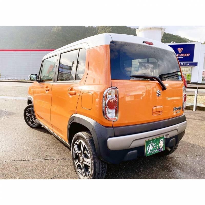 ハスラーオレンジ4WD